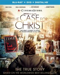 The Case For Christ New Sealed Blu-ray + Dvd 2017 Theatrical Film
