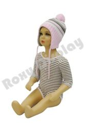 Plastic Child Mannequin 5-6 Years Old Standing Pose Ps-kd-10