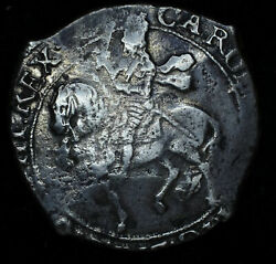Great Britain 1/2 Half Crown 1636-8nd Silver S2779 Charles I