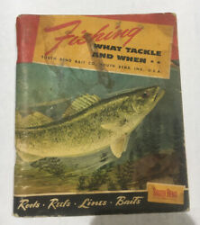 South Bend 1951 Fishing Catalog What Tackle And When Booklet Rods Reels Lures