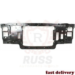 Fits 92-97 Ford F150 F250 F350 Black Steel Radiator Support Assembly Gas Engine