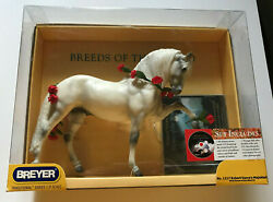 BREYER TRADITIONAL HORSE #1217 ROBERT VAVRA#x27;S MAJESTAD NEW IN BOX WITH CD