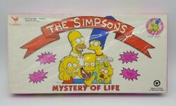 The Simpsons Mystery Of Life Board Game 1990 Cardinal Brand New In Box 4300