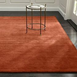 Area Rugs 10and039 X 14and039 Baxter Marigold Hand Tufted Crate And Barrel Woolen Carpet