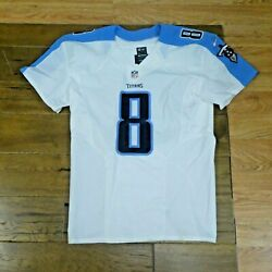 2016 Marcus Mariota Game Issued Tennessee Titans Football Jersey