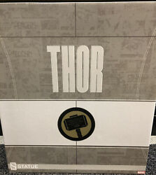 Sideshow Avengers Assemble Thor Collectors Statue Figurine Marvel 14/1250
