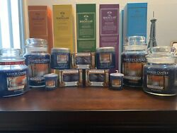 Yankee Candle November Rain Collector's Set Extremely Hard To Find