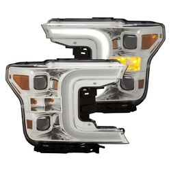 111399 Anzo Headlight Lamp Driver And Passenger Side New For F150 Truck Lh Rh Ford