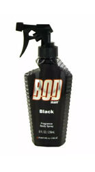 Bod Man Black for Men by Parfums De Coeur Fragrance Body Spray 8 oz 236mL $11.99