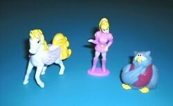 Long John Silvers 1995 - Princess Gwenevere And The Jewel Riders - Lot Of 3 Diff.