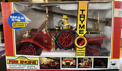 1914 Model T Collectible Campbell Soup Tin Lizzy Bump-n-go Fire Engine
