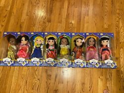 Disney It's A Small World Singing Dolls Set Of 8 New In Box