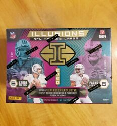 2020 Panini Illusions Football Blaster Box Nfl Sealed In Hand And Ready To Ship