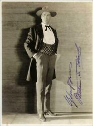 William S. Bill Hart - Photograph Signed