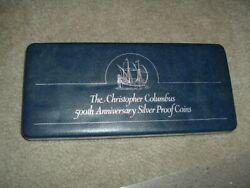 The Christopher Columbus 500th Anniversary Silver Proof 10 Coins Danbury Mint