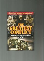 The Greatest Conflict News From The Front Lines Of Wwii [box] [new]cd Aud