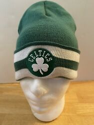 Boston Celtics Winter Hat By Mitchell And Ness New