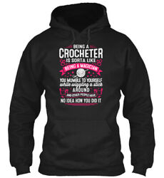 Teespring Crocheter Is Sorta Like A Magician Classic Pullover Hoodie