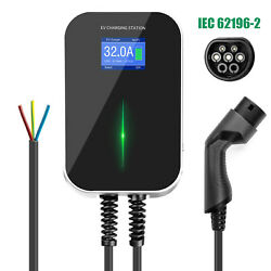 32amp Ev Charging Station Type 2 Electric Vehicle Car Battery Charger Iec62196-2