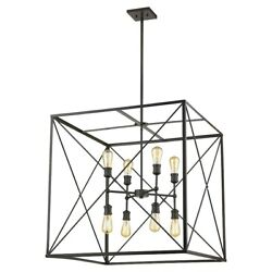 Acclaim Brooklyn 8-light 30 Pendant Oil-rubbed Bronze - In21127orb