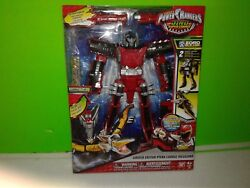 Power Rangers Dino Super Charge Red Ptera Charge Megazord Nisb Free Shipping