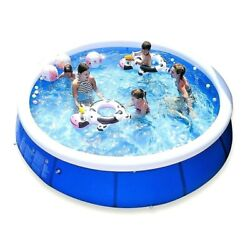 Inflatable Swimming Pool For Family Large Summer Round Bracket Outdoor Pvc Pool
