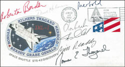 Space Shuttle Discovery - Sts - 42 Crew - Commemorative Envelope Signed
