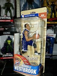 Mcfarlane Nba Series 29 Russell Westbrook Blue Road Jersey Variant Chase /1000
