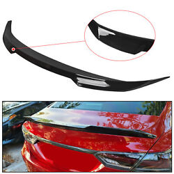 For 2018 - 2021 Toyota Camry Glossy Black M4 Style Rear Trunk Lip Wing Spoiler