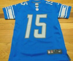 Nike Nfl Detroit Lions Golden Tate Jersey Size Youth S 8