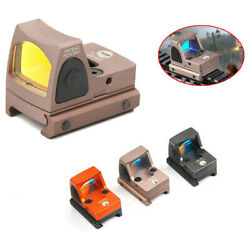 Tactical Rmr 3.25moa Red Dot Sight Led Reflex Adjustable For Glock Scope 45mm