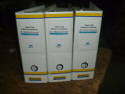 New Holland T5.110 T5.120 Electro Command Tractor Shop Service Repair Manual Set