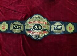 Roh Ring Of Honor World Television Wrestling Championship Belt Adult Size
