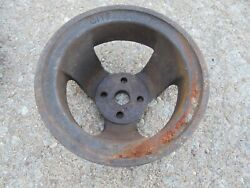 Ford Water Pump Pulley 1961-1963 C1te-8609-f Dual Sheave F100 Truck Econoline