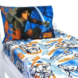 Star Wars Rebels Fight Twin Bed Sheet Sets Fight Along With Ezra And Kanan Kids
