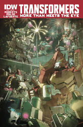 Transformers More Than Meets The Eye 42 Variant 1st Print Near Mint Idw 2015