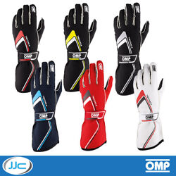Omp Tecnica Race Motorsport Fire Retardant Nomex Fia Approved Gloves