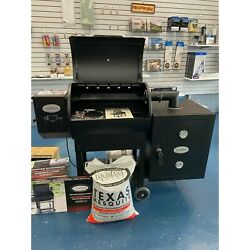 Louisiana Pellet Grillandnbsplg700 With Smoker Cabinet And Hopper Extension