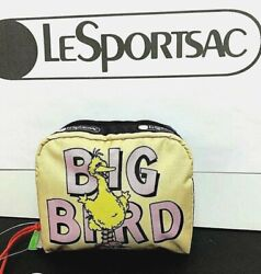 LeSportsac x Sesame Street Square Cosmetic Big Bird and Snuffy amp; Alice $62.99