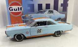 Gmp 1/18 Scale 1966 Ford Fairlane Street Fighter Gulf Oil Only 600 Produced Rare