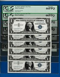 1 1957b Star Silver Certificate 23256718 B Pcgs 66 Buy One Or More Fr.1621
