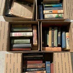 Book Lot Vintage Antique Hemingway Gone With The Wind Lots Of Great Titles