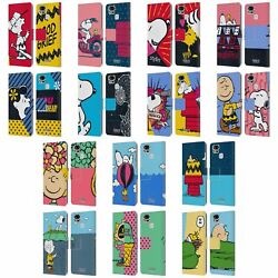 Official Peanuts Halfs And Laughs Leather Book Case For Asus Zenfone Phones