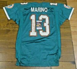 Dan Marino Signed Possible Game Issued Worn Football Jersey With Jsa Coa