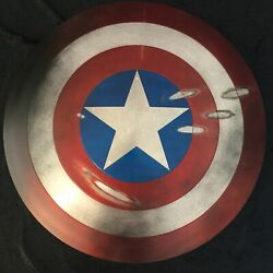 Captain America Shield 11 Scale Incredible Detail Mint Condition