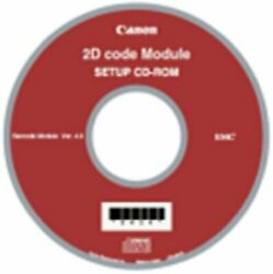 Canon 2d Code Module 1922b003 Allows The Isis/twain Driver To Recognize 2d Code