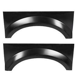 Bed Rear Wheel Arch Repair Patch Panel Pair For 99-07 Ford F250 F350 F450 F550