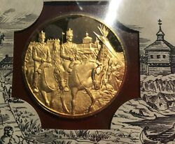 1974 Franklin Mint Fort Smith To Defend Frontier Fdc Gp Silver Medal D9414