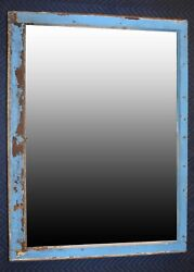 Mirror Antique Rustic Window Frame Mirror From The1910s