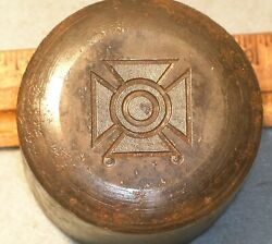 Pre-wwii Sharpshooter Qualification Badge Stamping Die Mc Lilley